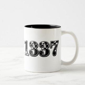 1337 $17.95 Two Toned Coffee Mug