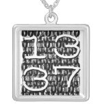 1337 binary background necklaces