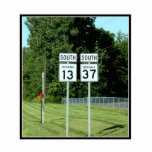 1337 INDIANA HIGHWAY SIGNS CUT OUT