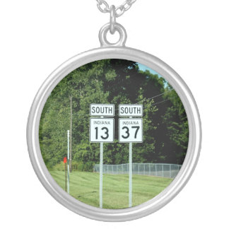 1337 INDIANA HIGHWAY SIGNS JEWELRY