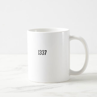 1337 CLASSIC WHITE COFFEE MUG
