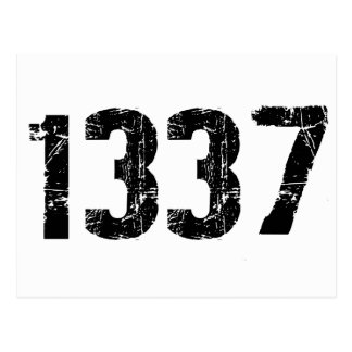 1337 Postcard