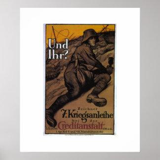 [1337] Y usted. (1917) posters del _Propaganda