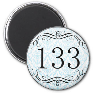 133 Area Code Magnets