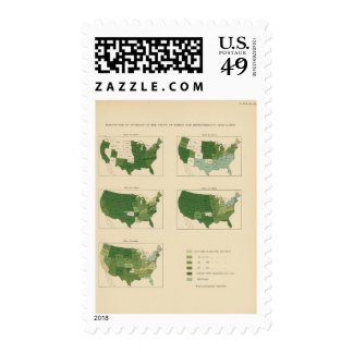 133 Increase value of farms 1850-1900 Postage