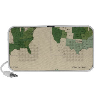 133 Increase value of farms 1850-1900 iPhone Speakers