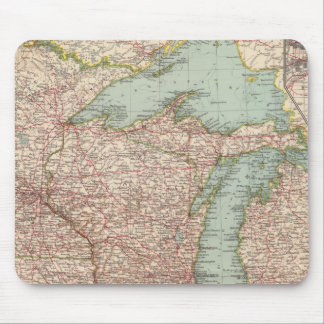 13435 Mich, Wis, Minn, Ia, Mo, Ill, Ind, Ky Mouse Pad