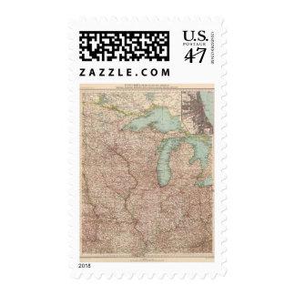 13435 Mich, Wis, Minn, Ia, Mo, Ill, Ind, Ky Postage
