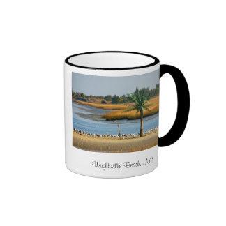 134_3481  copy  print, Wrightsville Beach, NC Ringer Mug
