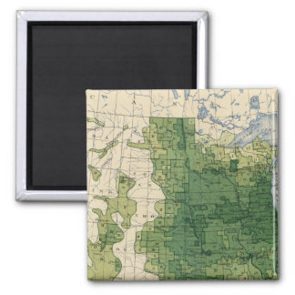 135 Value farm products 1900 2 Inch Square Magnet