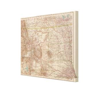 13637 Mont, ND, SD, Wyo, Neb Canvas Prints