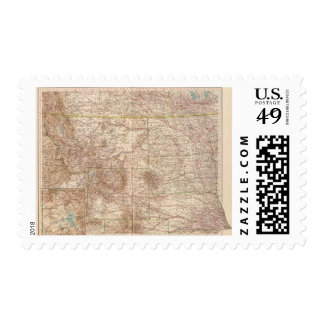 13637 Mont, ND, SD, Wyo, Neb Postage Stamp