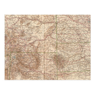 13637 Mont, ND, SD, Wyo, Neb Postcard