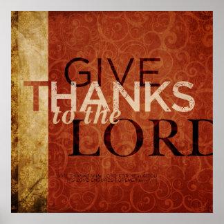 136:1 del salmo impresiones