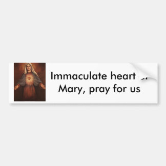 136-22521~Mary-s-Immaculate-Heart-Posters, Imma… Pegatina Para Auto