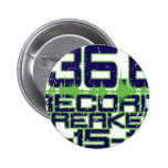 136.6 Record Breaker 2 Inch Round Button