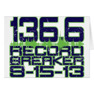 136.6 Record Breaker Card