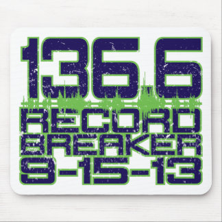 136.6 Record Breaker Mouse Pad