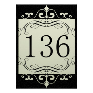 136 Area Code Posters