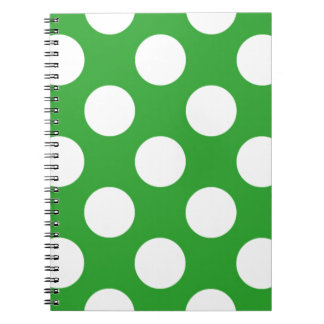 136 GRASS GREEN EARTH ENVIRONMENT BRIGHT WHITE POL SPIRAL NOTEBOOK