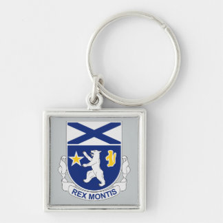 136th Infantry Regiment Keychain