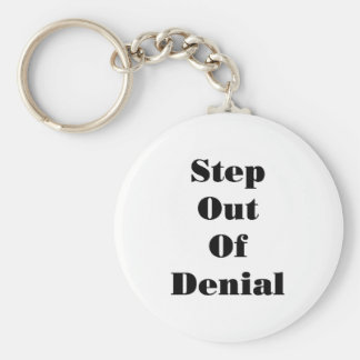 13726 Step Out off Denial Key Chains