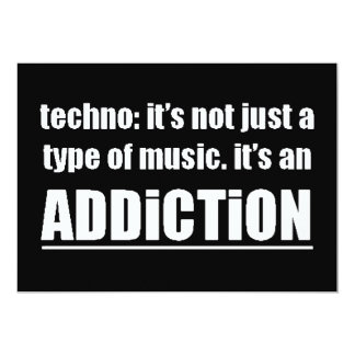 13770 techno type music addiction motto preference card