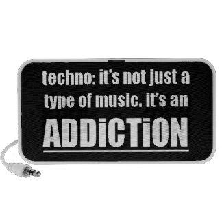 13770 techno type music addiction motto preference portable speaker