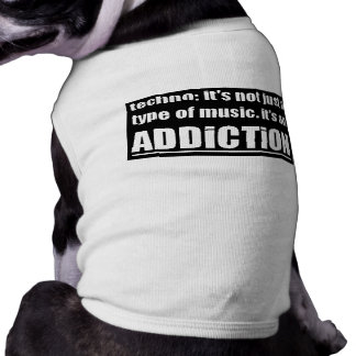 13770 techno type music addiction motto preference tee