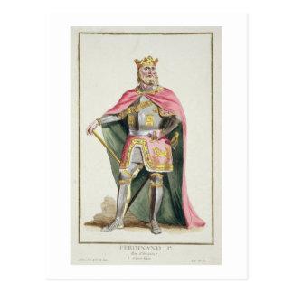 1379-1416) reyes de Fernando I (de Aragón de Postales