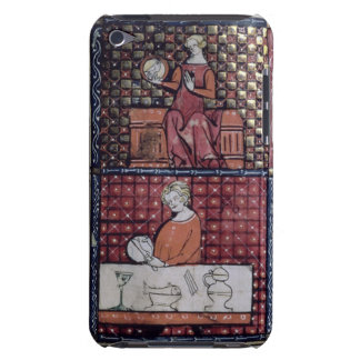 137-0011409/1 Seated woman with a dove and a man c iPod Touch Case