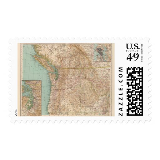 13839 Wash, Ore, Ida Postage Stamps