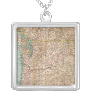 13839 Wash, Ore, Ida Silver Plated Necklace