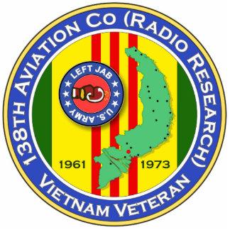 138o Avn Co RR - pinchazo dejado 2b - ASA Vietnam Llavero Fotográfico