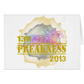 138o Camiseta 2013 de la carrera de caballos del P Tarjeta De Felicitación