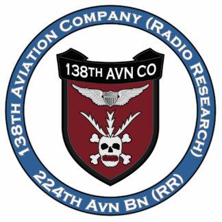 138th Avn Co 3 Statuette