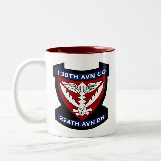 138th Avn Co 4 Two-Tone Coffee Mug