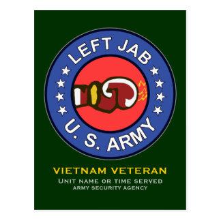 138th Avn Co - Left Jab 1 Postcard