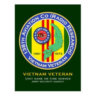 138th Avn Co RR - Left Jab 2b - ASA Vietnam Postcard