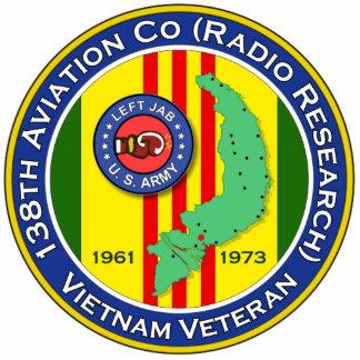 138th Avn Co RR LJ2b - ASA Vietnam Statuette