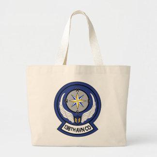 138th Avn RR 7 Large Tote Bag