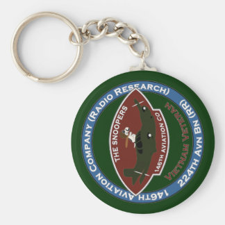 138th Avn - The Snoopers 2 Basic Round Button Keychain