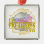 138th Preakness 2013 Horse Racing T-Shirt Christmas Ornaments