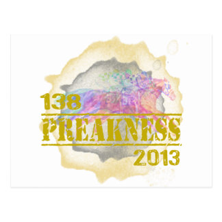 138th Preakness 2013 Horse Racing T-Shirt Postcard