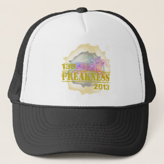138th Preakness 2013 Horse Racing T-Shirt Trucker Hat
