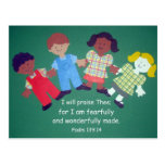 139:14 del salmo tarjeta postal
