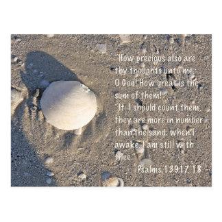 139:17 de los salmos - 18, versión de Shell Postales