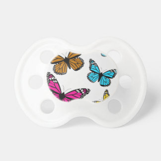 139 COLORFUL CARTOON BUTTERFLIES ASSORTMENT INSECT BABY PACIFIERS