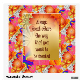 13.12.30.1.ALWAYS TREAT OTHERS.WALL DECAL