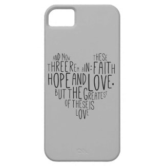 13:13 de los Corinthians del amor 1 de la Funda Para iPhone SE/5/5s